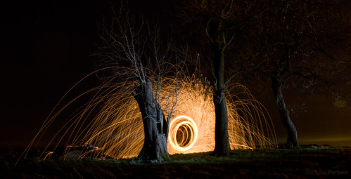 Sparks fly... | by Douglas Herbert