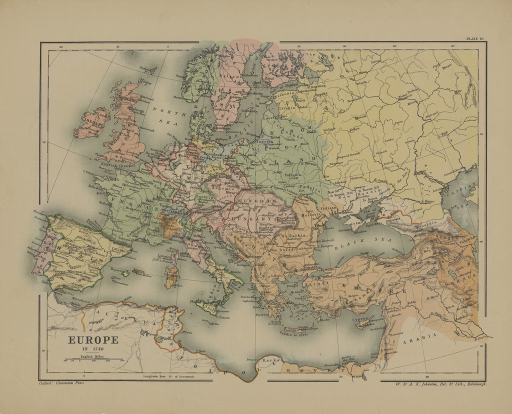Map page of section x europe in the eighteenth century pri flickr map page of section x europe in the eighteenth century prior to the french revolution from gumiabroncs Gallery