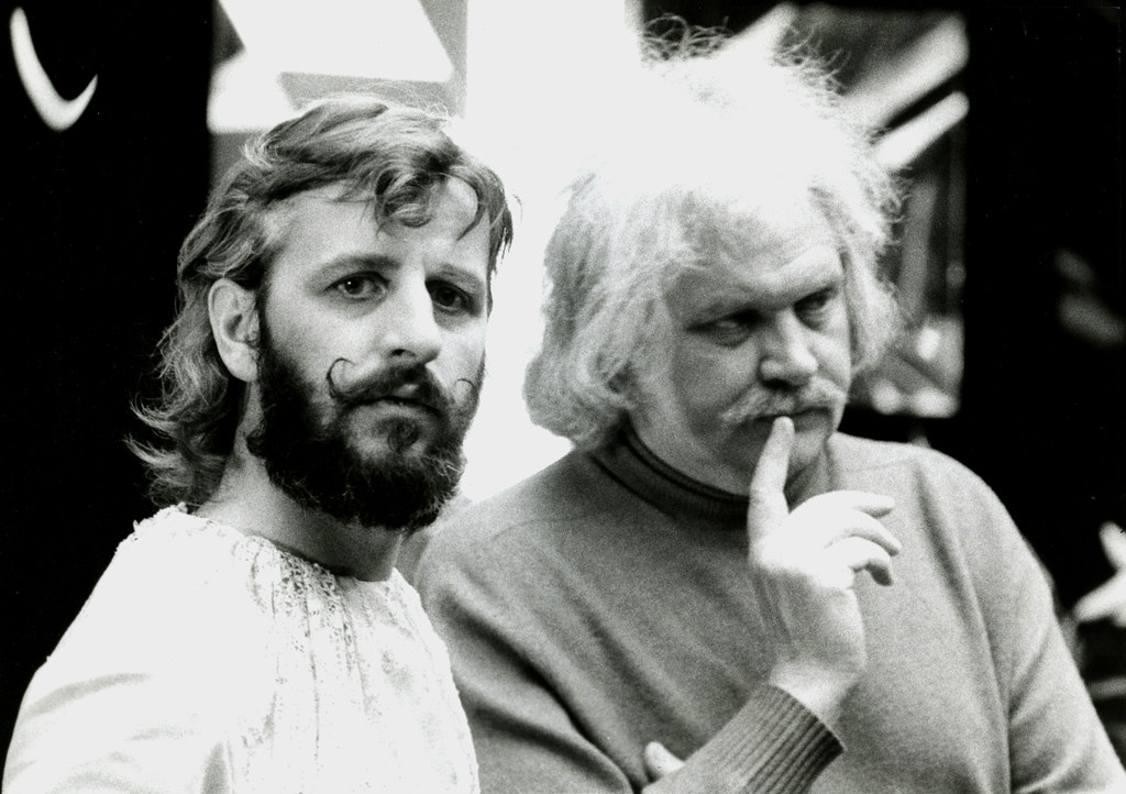 Beatle RINGO Starr Director Ken RUSSELL 1975