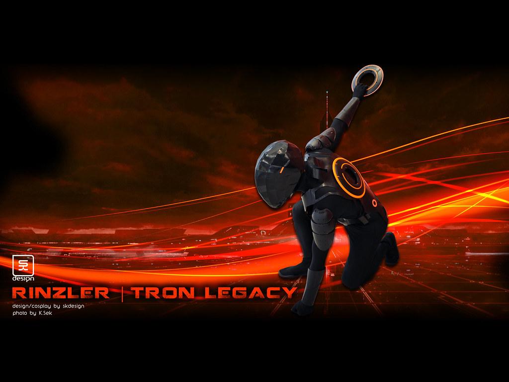 Rinzler Tron Legacy Cosplay
