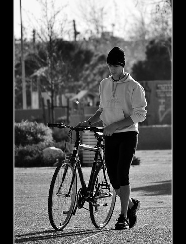 Walking with the bike . | by lefars2010