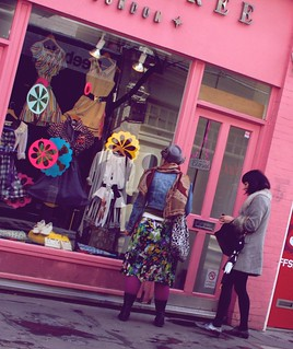 How to fight a blue Monday ? Work in a pinky shop :-) | by Pierre Mallien