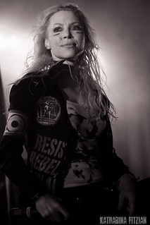 Arch Enemy - Angela Gossow | by Katigraphy