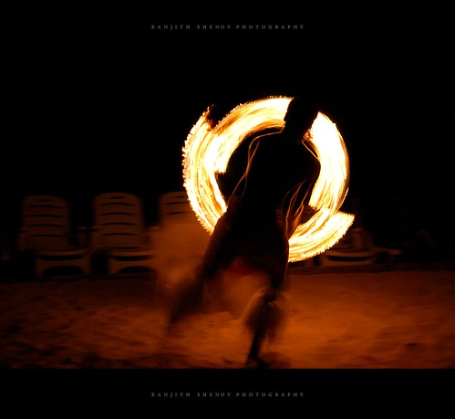 Playing with Fire ! Fire Dance | by Ranjith Shenoy