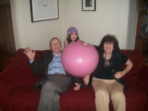 Popop, Babba, Nonie and Pink Ball. A Portrait. | by nathaniel s