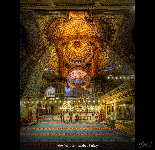 New Mosque - Istanbul, Turkey (HDR Vertorama) - [Explored] | by farbspiel