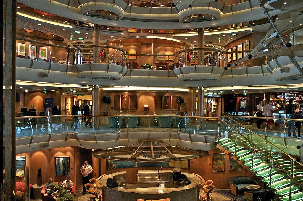 Image result for brilliance of the seas atrium