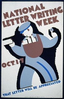 National letter writing week, Oct. 1-7 (LOC) | by The Library of Congress