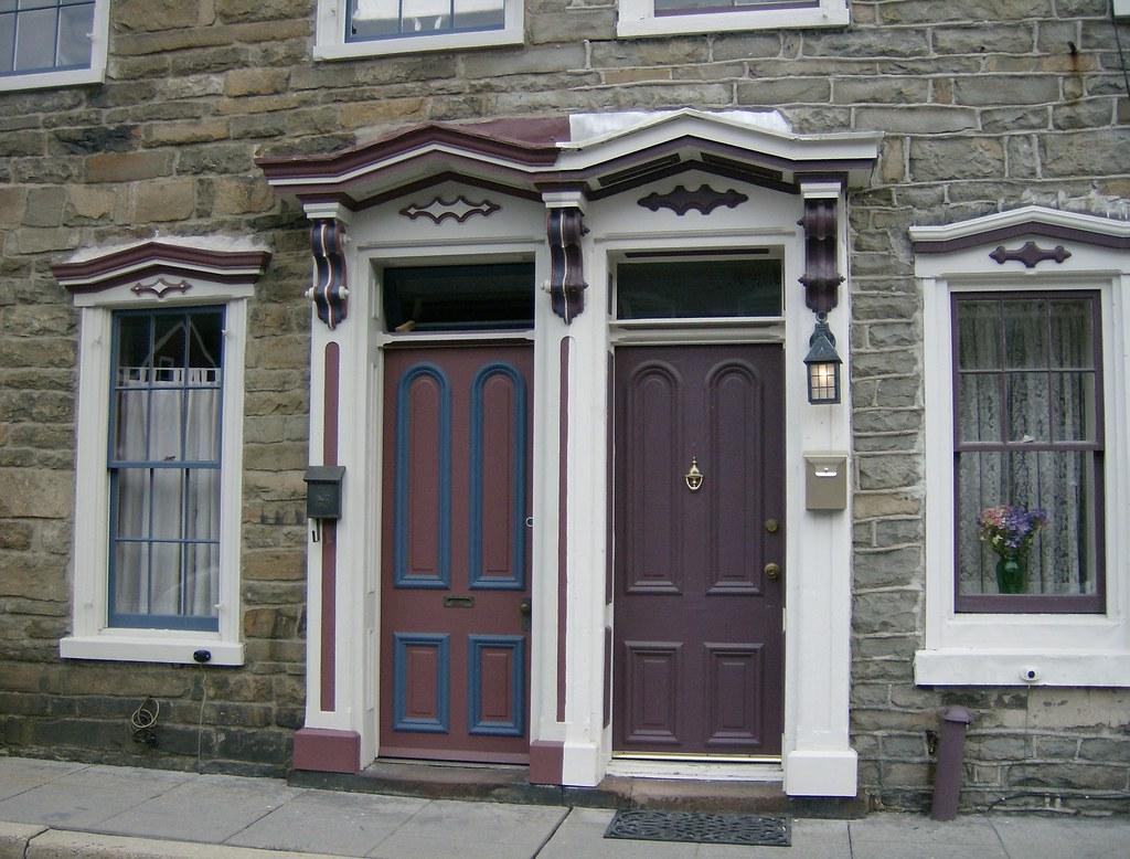 ... Twin Victorian Doors Jim Thorpe PA | by Cosmos Mariner & Twin Victorian Doors Jim Thorpe PA | Twin Victorian Doors\u2026 | Flickr