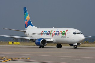 Small Planet Airlines 737 | by nxgphotos