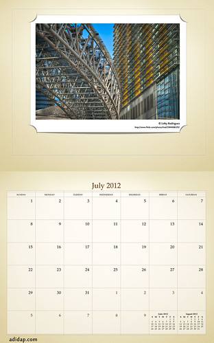 ADIDAP Calendar 2012 US Retro July | by akhater