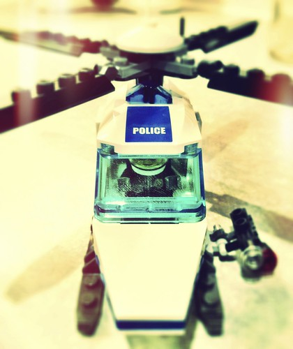 Lego Police Helicopter | by Pete Newman