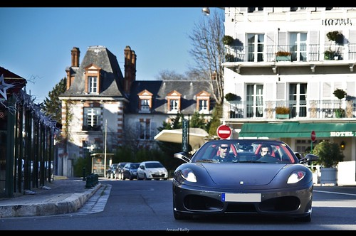 Cruising - Ferrari 430 Spider. | by Arnaud Bailly