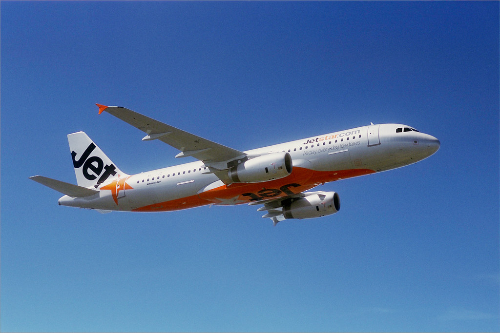 Jetstar airbus a320 in flight one of our airbus a320 200 a flickr jetstar airbus a320 in flight by jetstar airways stopboris Image collections