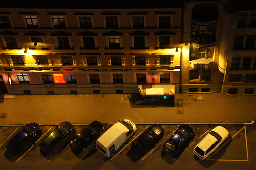 Aerial View of Parked Cars | by tarmo888
