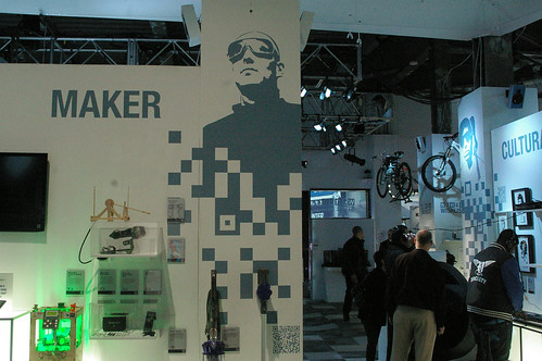 The Wired Pop up Store in Times Square featuring a Maker section | by Shapeways: