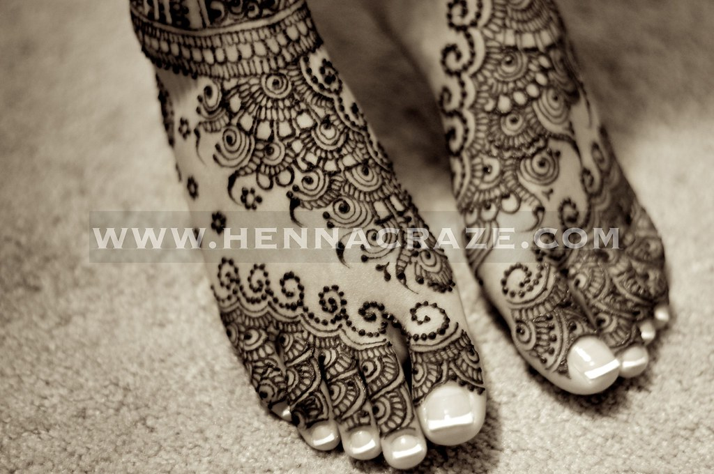 Bridal Mehndi On Foot : Indian bridal henna feet craze by sumeyya hennau flickr