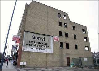 Banksy - Sorry - The lifestyle you ordered is currently out of stock | by artofthestate