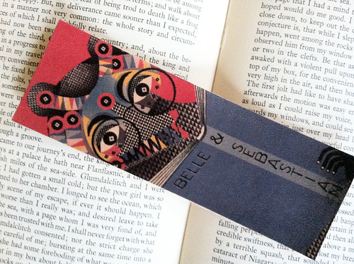 bear bookmark2 | by lesley barnes