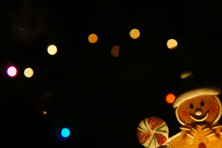 Gingerbread Man Bokeh Christmas Tree | by Jay Jay Kane