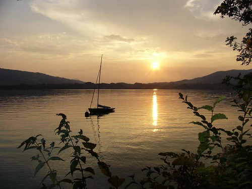 Sonnenuntergang am Mondsee | by Traudel1012