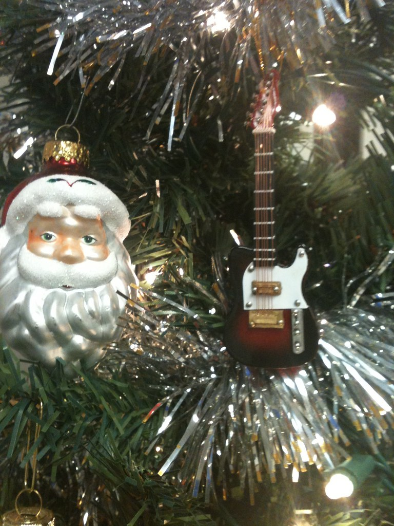 ... Rock And Roll Christmas Tree Decorations | By Trail Trekker