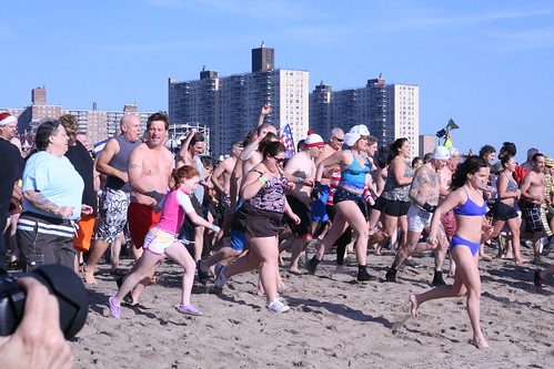 Coney Island Polar Bear Club Swim 2012 | by TheGirlsNY