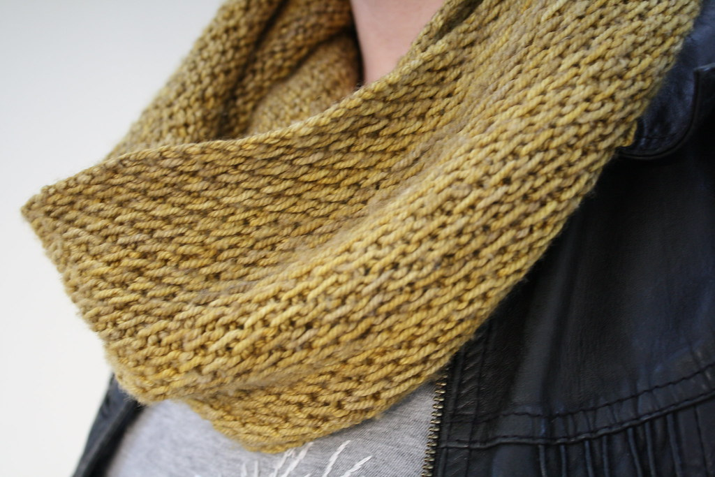 Madelinetosh Pashmina Wool Knitted Into A Honey Cowl F Flickr