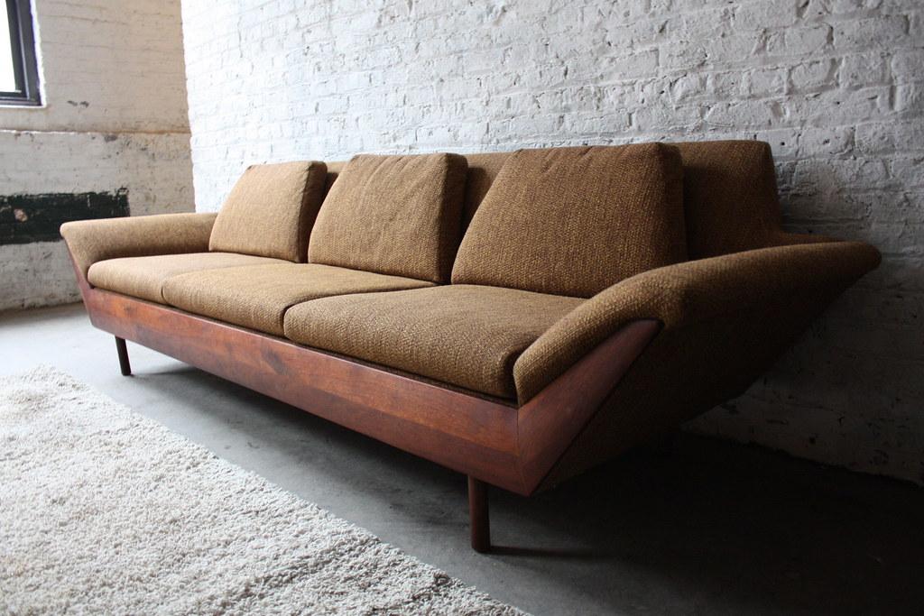 Beau ... Breathtaking Flexsteel Thunderbird MCM Sofa (1965) | By  Kennyk@k2modern.com