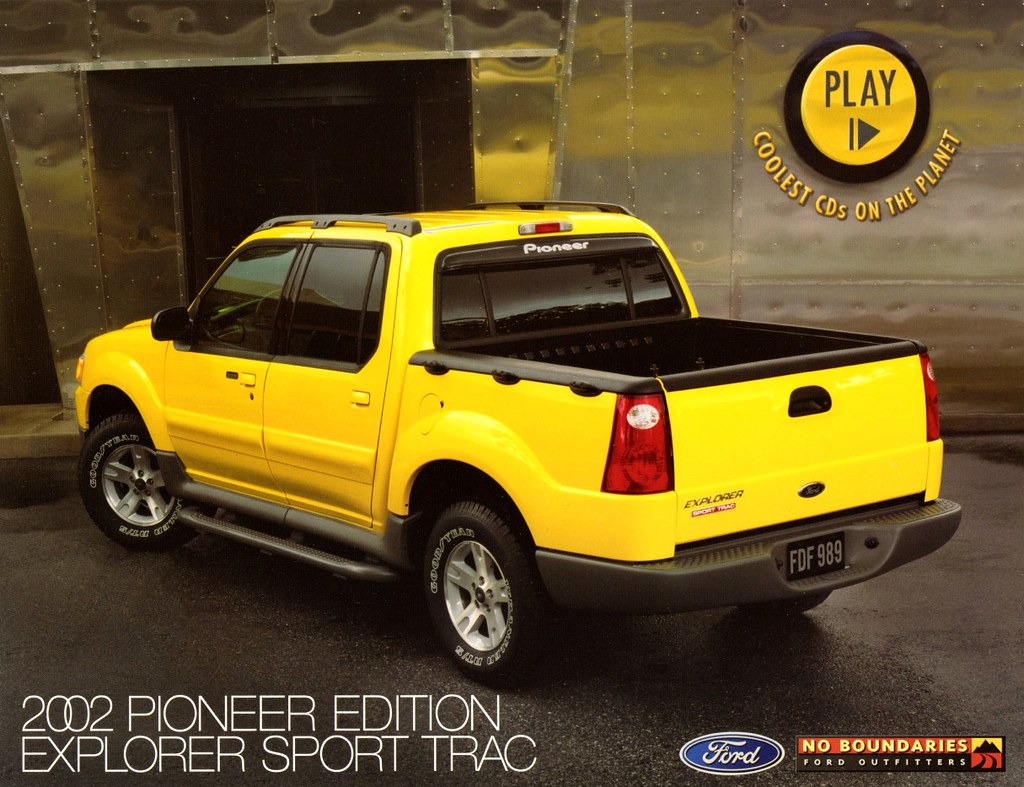 2002 ford explorer sport trac pioneer edition by aldenjewell