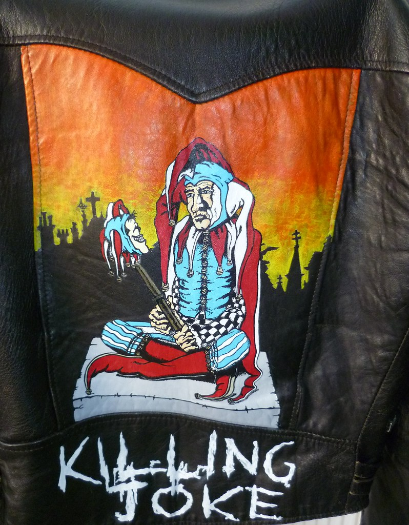 Leather jacket song -  Punk Artwork By Tony Shaw Killing Joke Empire Song On Leather Jacket By