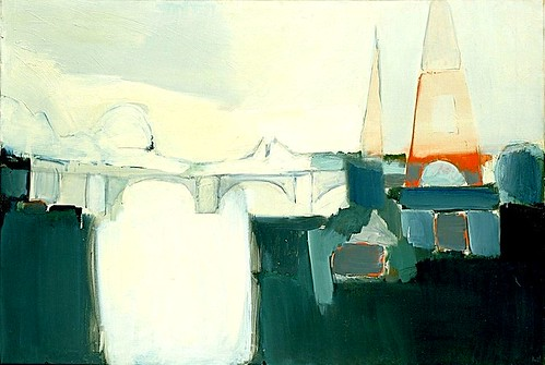 Stael, Nicolas de (1914-1955) - 1954 The Seine (Hirshhorn Museum and Sculpture Garden, Washington, DC) | by RasMarley