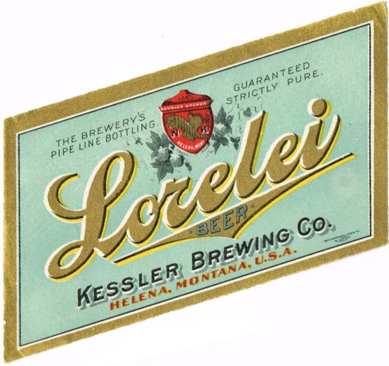 Lorelei-Beer-Labels-Kessler-Brewing-Co--Pre-Prohibition