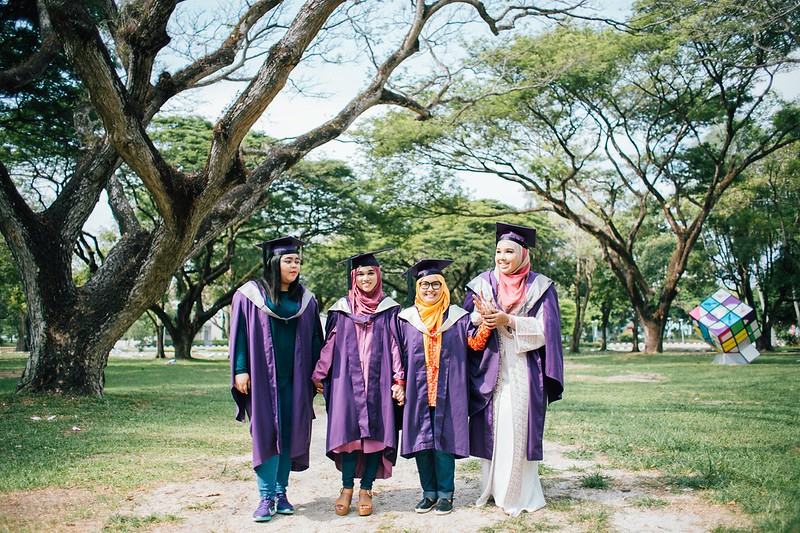 Convocation Outdoor Photoshoot