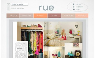 Rue Magazine: Holiday Issue | by Secret Holiday & Co.