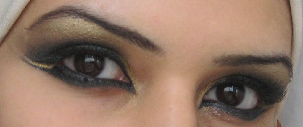 Egyptian Princess Look Arabic Style Eye Makeup Youtube Flickr