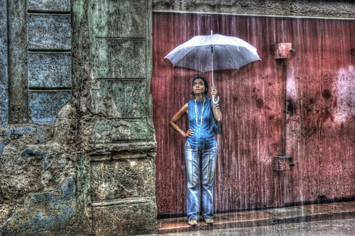 Waiting for the Rain to Pass - Havana Cuba | by IV2K