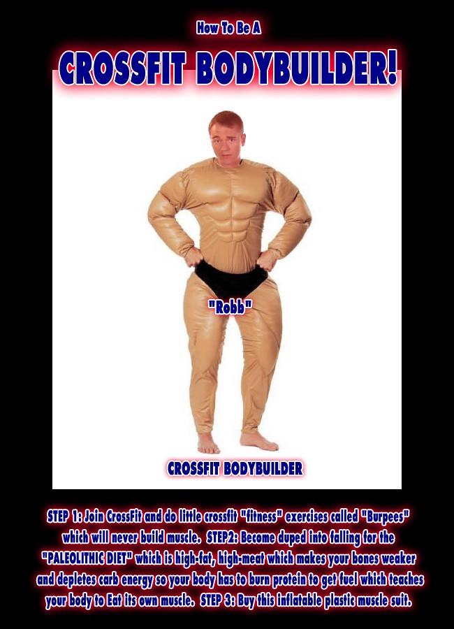 Crossfiit bodybuilder on paleo diet non vegetarian prima flickr crossfiit bodybuilder on paleo diet non vegetarian primal freetheanimal caveman robb wolf by paleo malvernweather Choice Image