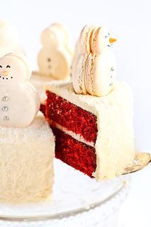 Red Velvet Christmas Cake Balls