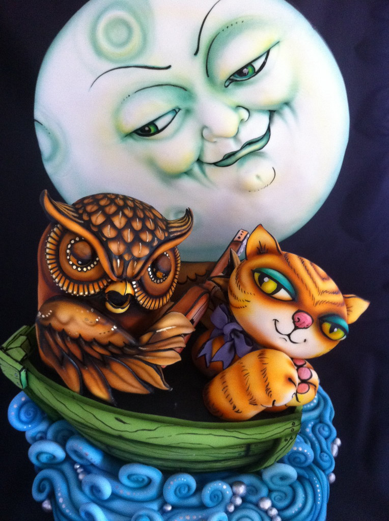 Owl and tthe pussy, pictures of women having boob massage