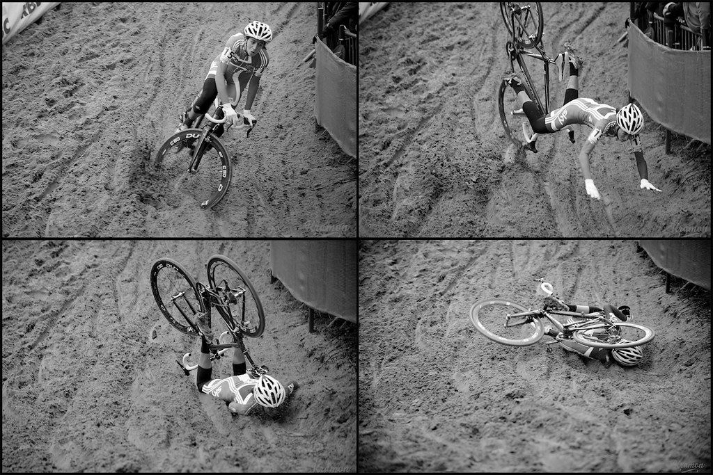 Anatomy Of A Crash By The Unfortunate Helen Wyman Uci Cycl Flickr