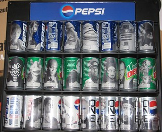 Star Wars Episode I Pepsi cans | by Paxton Holley