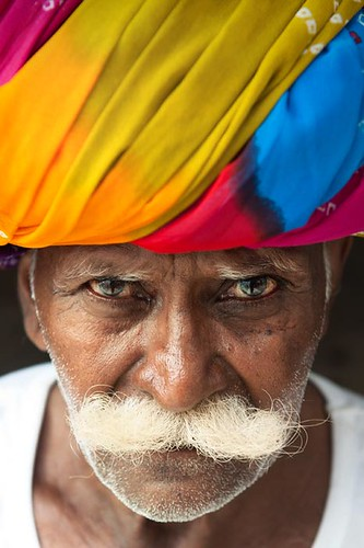 Incredible India | Colorful portrait  |  Beautifull man | by galibert olivier