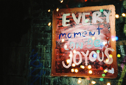Every moment can be joyous | by nic0
