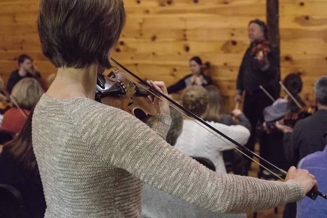 Best of Trad String Fling at Ashokan - 2016