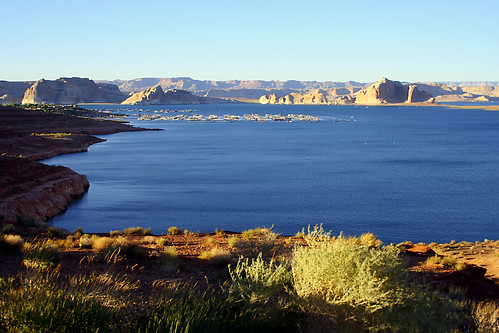 Late afternoon arrival at Lake Powell | by Jay Tilston