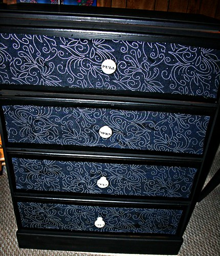 Four Drawer Dresser | by Rick Cheadle Art and Designs