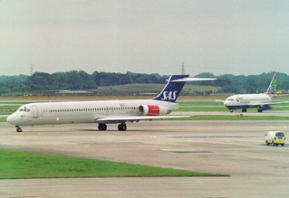 LN-ROM McDonnell Douglas MD-81 (DC-9-81) (cn 53008/1895) Scandinavian Airlines - SAS. | by ATom.UK