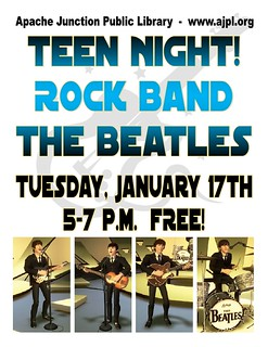 Teen Night: The Beatles Rock Band! | by ajlibrary