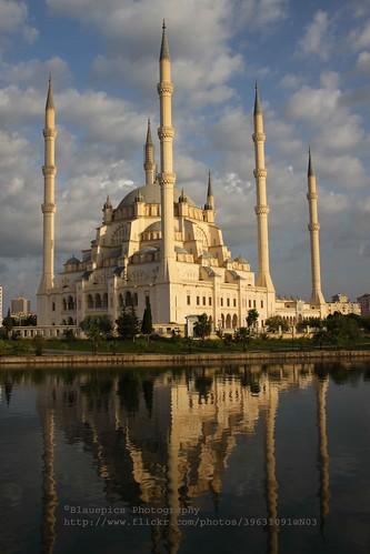 Adana, Sabancı Merkez Camii, early morning light  Sabancı ...